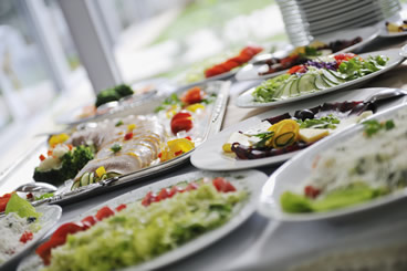 Blue Window Bistro :: Catering Services